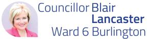 Blair Lancaster Ward 6 Burlington